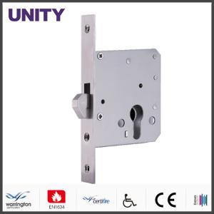 Quality Electromagnetic Door Lock , Bathroom Door Locks Unlocking By Euro Profile Cylinder wholesale