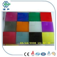 Cheap PVB White / Colored Laminated Glass Panels big sheet with 0.38mm 0.76mm for sale