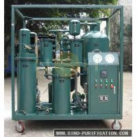 Quality Easy Handling Lube Oil Purification System , 3P Lube Oil Purification Machine wholesale