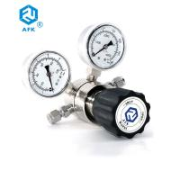Quality Single Stage Pressure Gauge Stainless Steel For Laboratory / Instrumentation wholesale