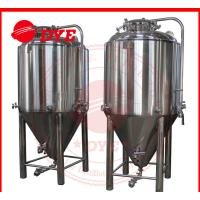 Quality 7BBL Conical Beer Fermenter , Conical Stainless Steel Fermenter wholesale