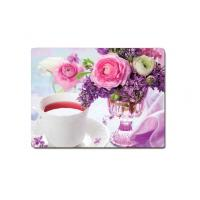 Quality Decorative Flower PET Printing 3D Lenticular Plastic Table Mats Offset Printing wholesale