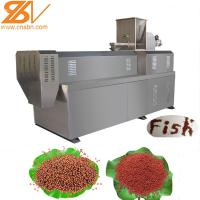 Quality SLG65-III Pet Fish Feed Extruder Machinery Production Line 100-160 Kg/h wholesale