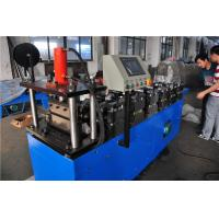 Quality Galvanized Plate 3KW Stud And Track Roll Forming Machine 0.3-1.2mm Thickness wholesale