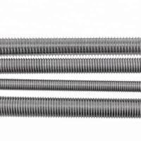 Quality HDG Rolled Fully Threaded Rod DIN976 M12 Threaded Stainless Steel Bar wholesale