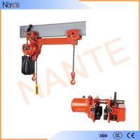 Quality 24v - 48v Manual Electric Chain Hoist , Limit Switch Devices wholesale