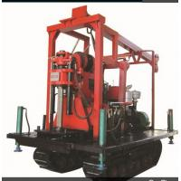 Cheap skid mounted Crawler Exploration Engineering Prospecting Drilling Rig for sale