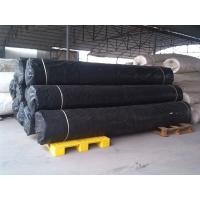 Quality Black Shrink Resistant Non Woven Fabric For Road / Concrete Slope wholesale