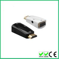 Quality Support 1080p hdmi to vga male to female adapter with audio converter wholesale