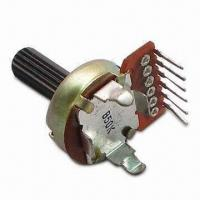 Quality Rotary Potentiometer with Total Rotational Angle of 300 +/- 5 Degrees wholesale