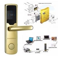 Quality High Security Software Management System RF Hotel Door Lock Electronic Door Latches wholesale