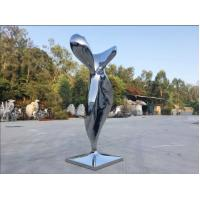 Quality Modern Mirror Stainless Steel Sculpture Abstract Garden Sculpture Public Decoration wholesale