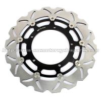China Dirt Bike Floating Disc Brake / Stainless Steel Brake Discs With 5 Holes on sale