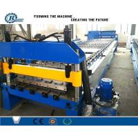 China Single Decking Roof Panel Roll Forming Machine , Metal Roof Sheet Roll Former Machine on sale