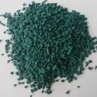 Quality 1 to 4mm Color EPDM Rubber Granules, Used for Paving Sports Ground wholesale