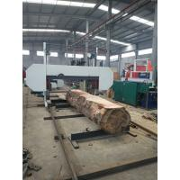 Quality Horizontal Cutting Band Sawmill Heavy Duty Large Size Wood Bandsaw Machine wholesale