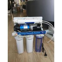 Quality Residential Reverse Osmosis Water Filtration System Under - Sink Manual Flush wholesale