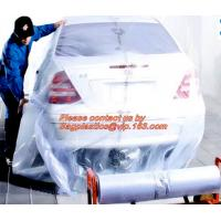 China Plastic drop sheet/cloth(fastmask masking film),Disposable car cover,5 in 1 auto clean kits(Disposable seat cover, steer on sale