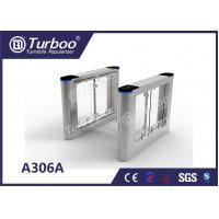 Quality Waist High Fast Speed Gate Turnstile Biometric Access Control Convenience Settings wholesale
