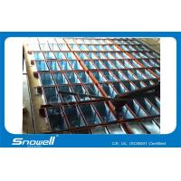Quality 20T/Day Water Cooled Industrial Ice Block Making Machine , 1.5mm Galvanized Panel wholesale