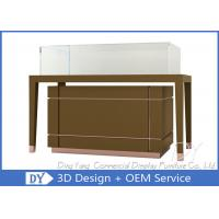 Quality OEM Jewelry Glass Showcase / Jewellery Display Counter Showcase wholesale