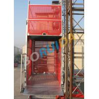 Quality Safety Mast Section Heavy Duty Cage Hoists Elevator Lift Machine 250m wholesale
