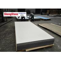 Quality White Color Phenolic Slab Corrosion Resistant For Chemical Plant Worktop wholesale