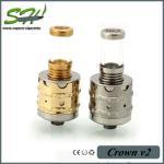 Quality Crown V2 RDA Dripping Atomizer Cig Rda Crown v2 Atomizer 1:1 Clone wholesale