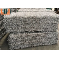 Hexagonal Hole Carbon Steel Gabion Wire Baskets For Slope Protection for sale