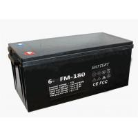 Quality Lightweight 12V 180Ah Battery VRLA Deep Cycling Gel Type With M8 Terminal wholesale