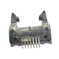 Quality Long Latch 2.54 Mm Pitch Pin Header , PBT Straight 14 Pin Header Connectors wholesale