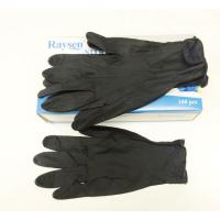 Quality Black Thick Nitrile Powder Free Gloves Latex Free Nitrile Gloves Fully Textured wholesale