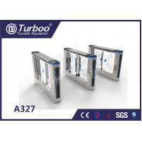 Quality Office Security Swing Electronic Turnstile Gates Mechanical Anti - Pinch Function wholesale