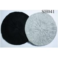 Quality woman knitted hat good style and high quality SH041 adults acrylic hats wholesale