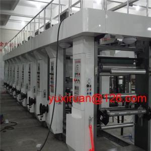 Cheap Multi Color Paper / PP Film 8 Colour Rotogravure Printing Machine for sale