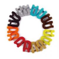 Beautiful Colorful 50mm Velvet Hook For Jacket / T-Shirt / Sweater