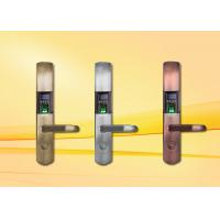 Quality Fingerprint Door Lock with OLED and USB interface , support Spanish / Arabic / Portuguese wholesale