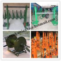 Quality Cable drum trestles, made of cast iron,Jack towers,Cable Drum Lifting Jacks wholesale