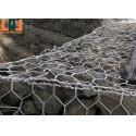 Galfan Coating Gabion Basket Mesh Anti Corrosion Galvanized Woven Wire Mesh for sale