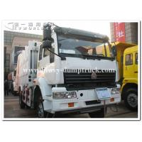 Buy cheap Sinotruk golden prince 6 x4 heavy card 300 hp tractor head / prime mover for pulling Bulk cement tank trailer from wholesalers