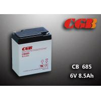 Quality 6V 8.5AH Gray AGM Sealed Lead Acid Battery CB685 For UPS / Medical Equipment wholesale