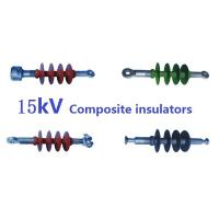 Buy cheap 15kV Polymer Composite Suspension Insulator , ECR Core Rod Electric Line Insulators product