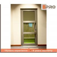 Quality Soundproof Aluminium Casement Door With Double Glazed Glass Color Optional wholesale