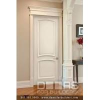 Quality Good Ventilated Prehung Modern Wood MDF Interior Doors Thickness 5mm 6mm 9mm wholesale
