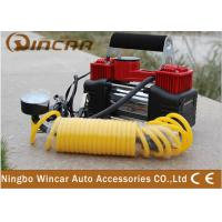 China Double-Cylinder Car inflatable Pump 12V Portable Air Compressor Tire Inflators Tool on sale