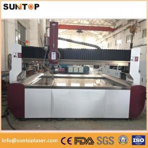 Quality Aluminium alloy cnc water Jet cutting machine 0-15meter/min 3.7L/min wholesale
