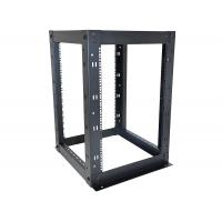 China 16U 4 Post Network Equipment Rack Strong Steel Construction 610 x 610mm Size on sale