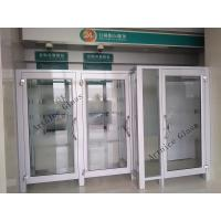 Quality 8mm to 22mm tempered / toughened  glass door with ISO9001, CE, Australia  AS/NZS 2208 Certificate wholesale