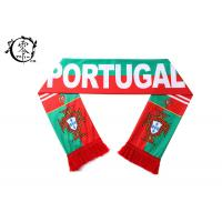 Quality One Size Sports Team Sublimation Scarf Portugal With Logo Printing wholesale