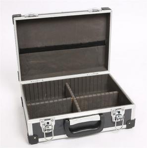 China Black aluminum tool storage carry case on sale